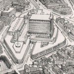 How the development of New Street was imagined in 1952.