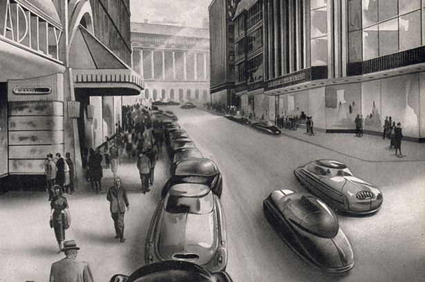 How Paul Cadbury predicted New Street might look in 2002.