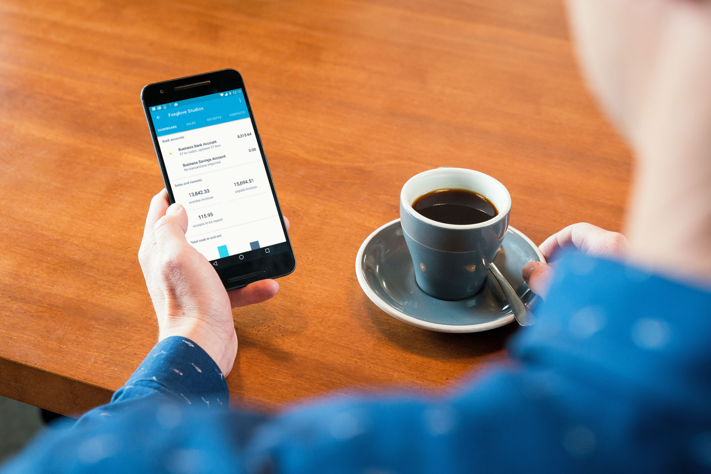 Xero on Android device